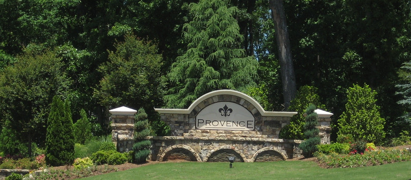 Provence homes sale cumming GA real estate